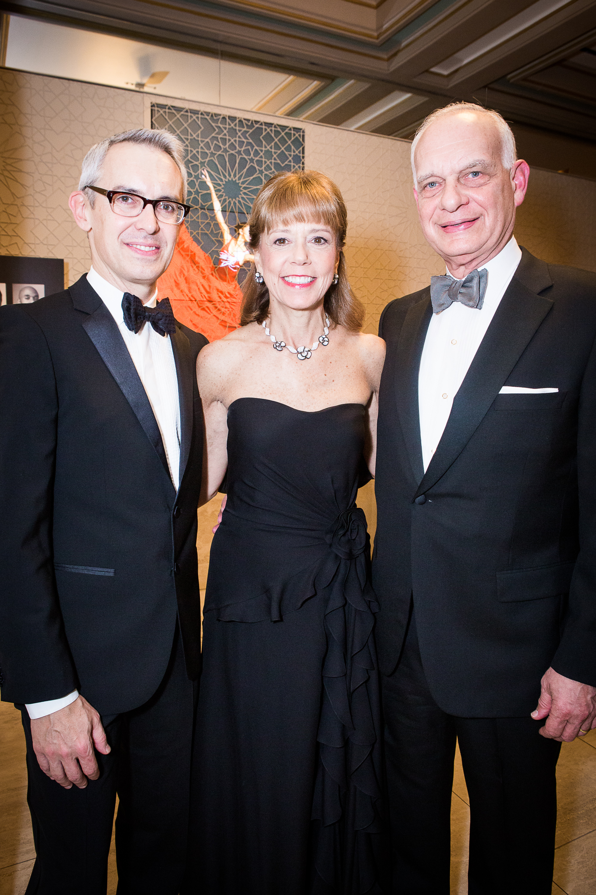 Bennett Rink, Daria L. & Eric J. Wallach at Alvin Ailey American Dance Theater's 2013 Opening Night Gala.  Photo by Dario Calmese