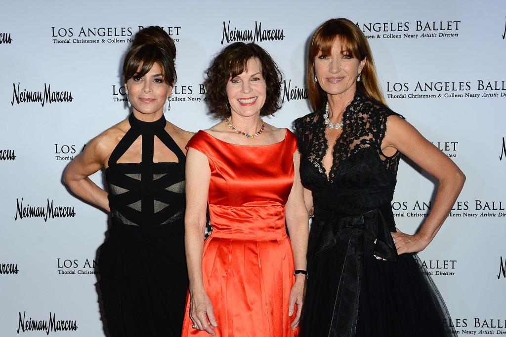Paula Abdul, Lori Milken and Jane Seymour. Photo Credit Brian Lindensmith