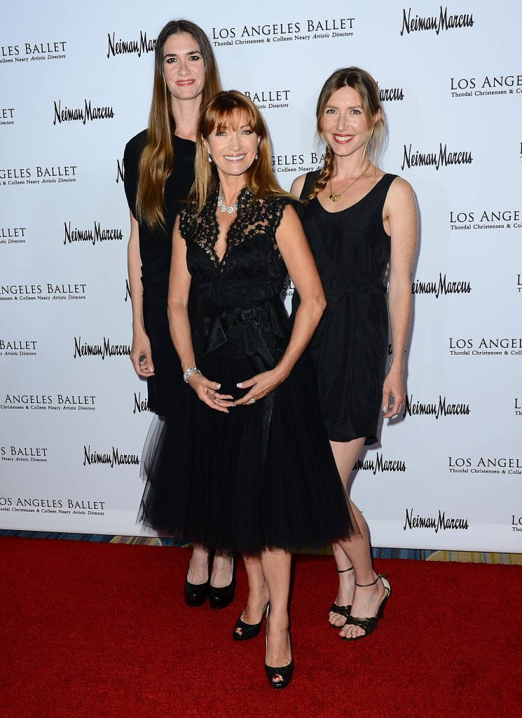 Jane Seymour with family. Photo Credit Brian Lindensmith.