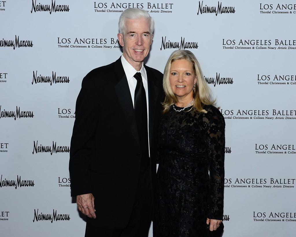 Former Governor of California Gray Davis and wife Sharon Davis. Photo Credit Brian Lindensmith.