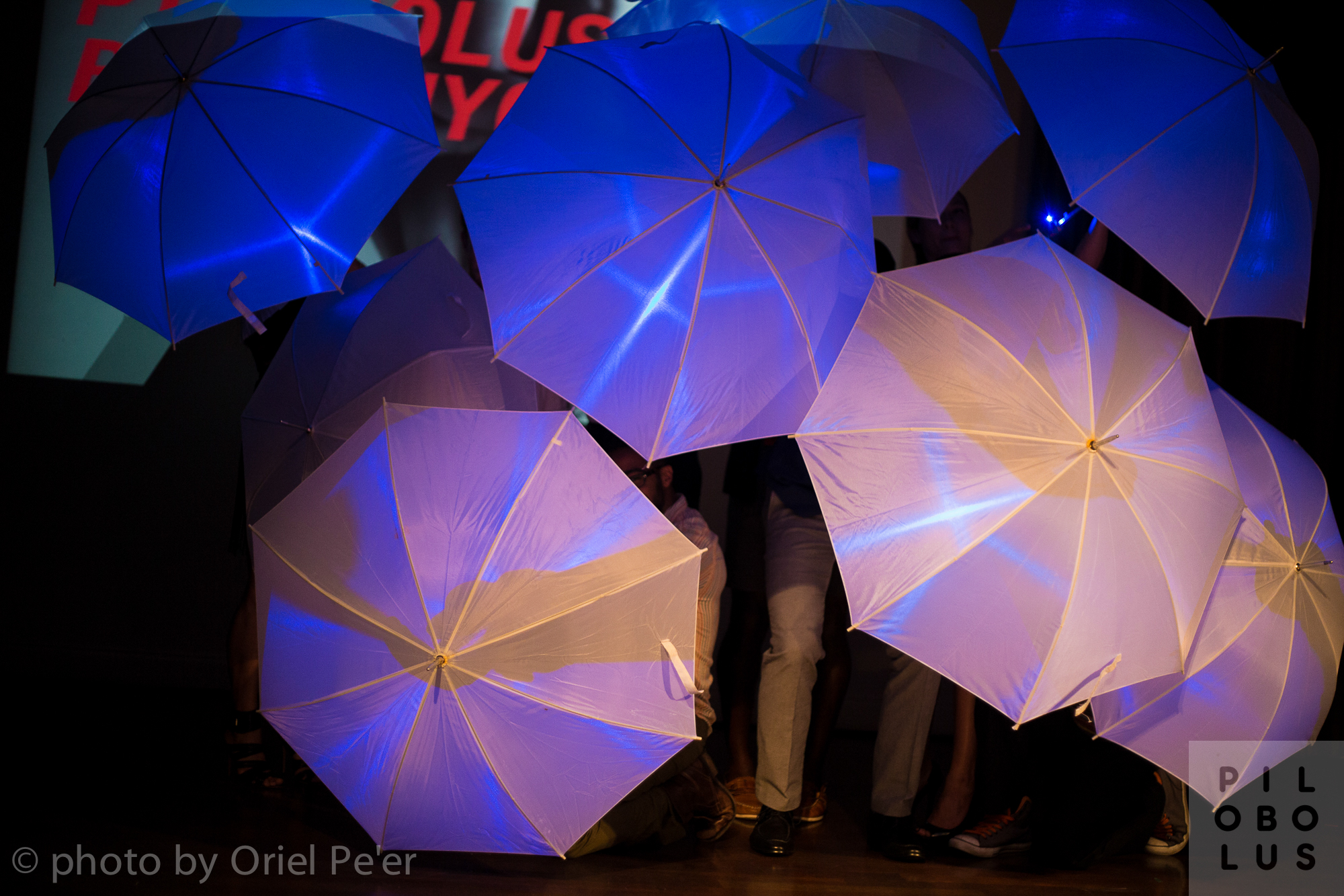 An Umbrella Event at the 2014 Pilobolus Ball/NYC