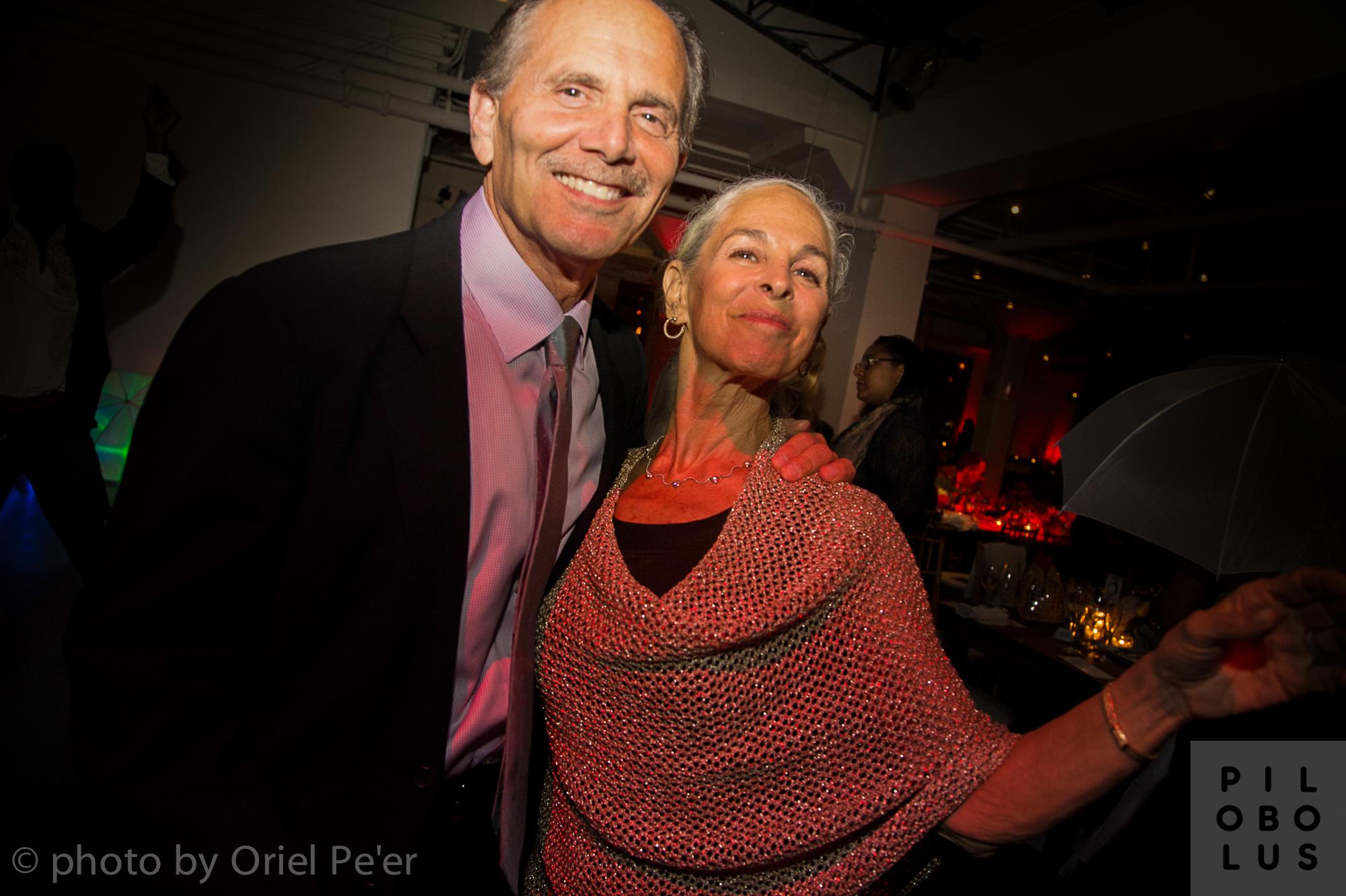 Paul Shaprio, Alvin Ailey Executive Director Emerita Sharon Luckman