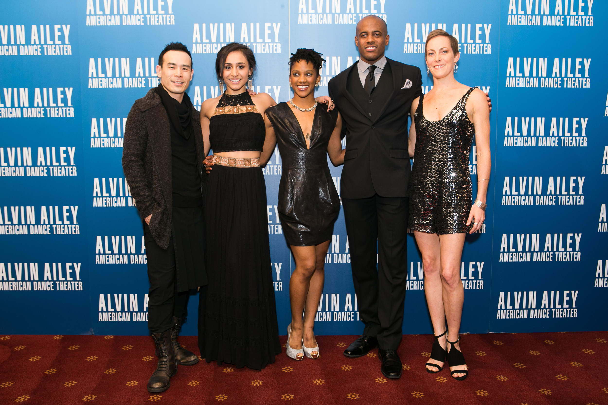 Alvin Ailey American Dance Theater Dancers attend Alvin Ailey's 2014 Opening Night Gala. Photo by Dario Calmese Jr