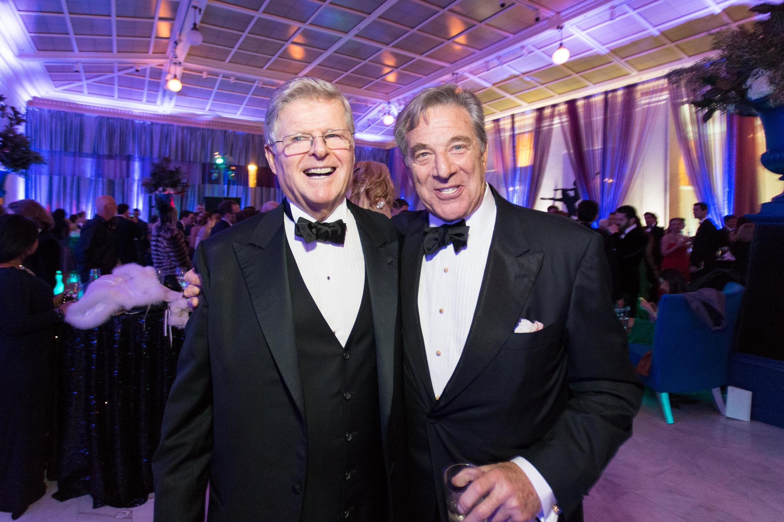 Richard Barker and Paul Pelosi. Photo Credit Drew Altizer.