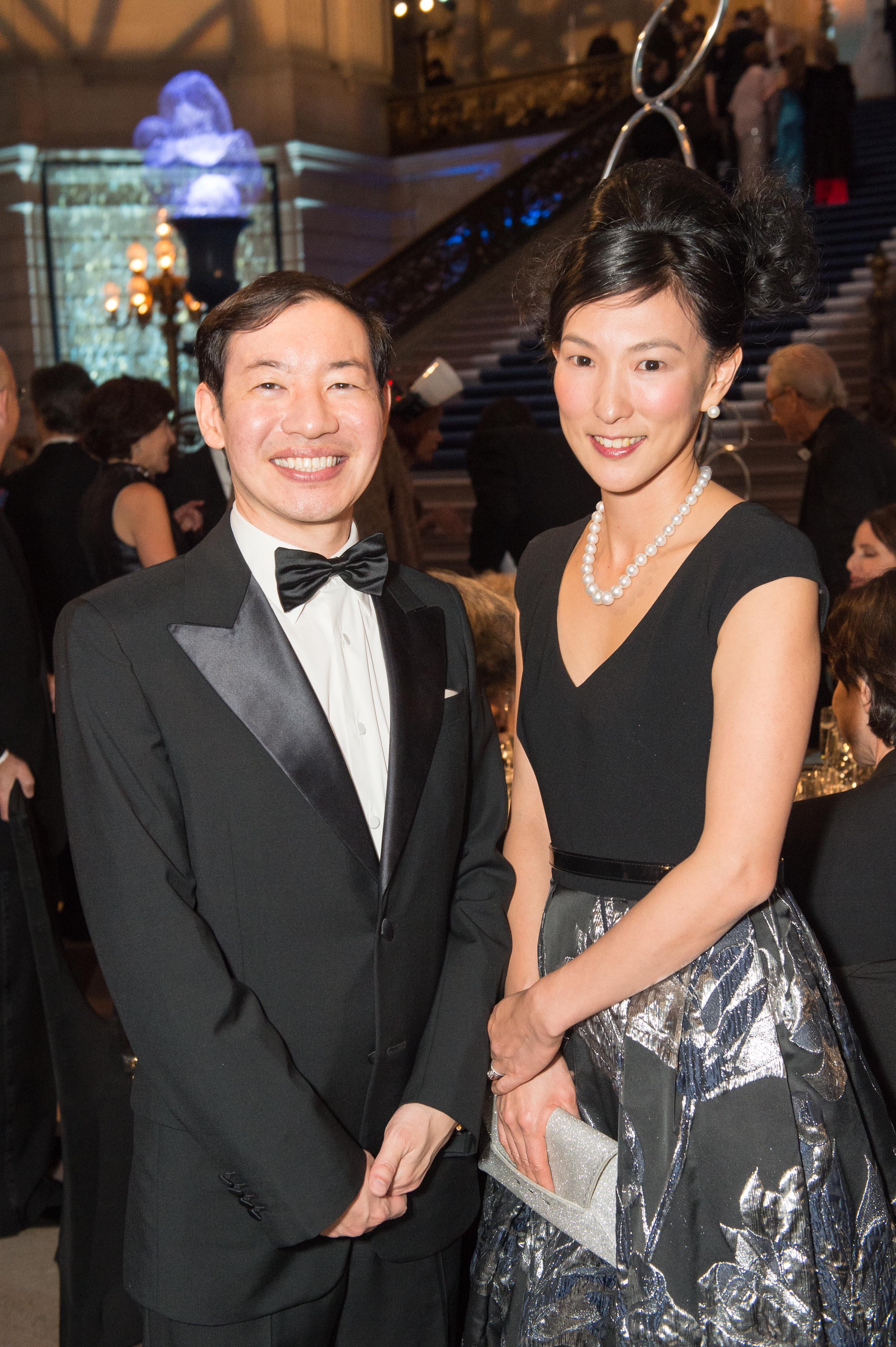 Yasunobu Kyogoku and Reiko Kyogoku. Photo Credit Susana Bates for  Drew Altizer Photography.