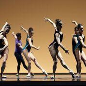 "San Francisco Ballet in San Francisco Ballet in William Forsythe's ""Pas/Parts 2016."" Photo by Erik Tomasson."