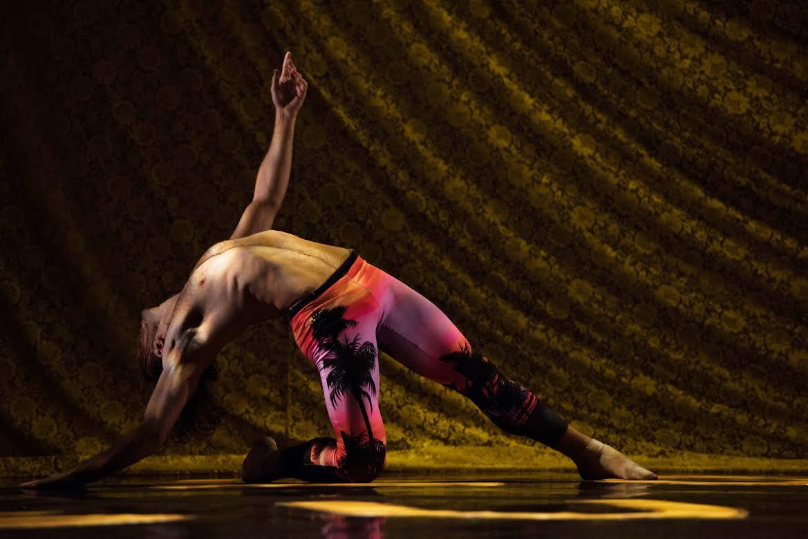 Dancer Joseph Kudra. Photo credit: Joshua Sugiyama