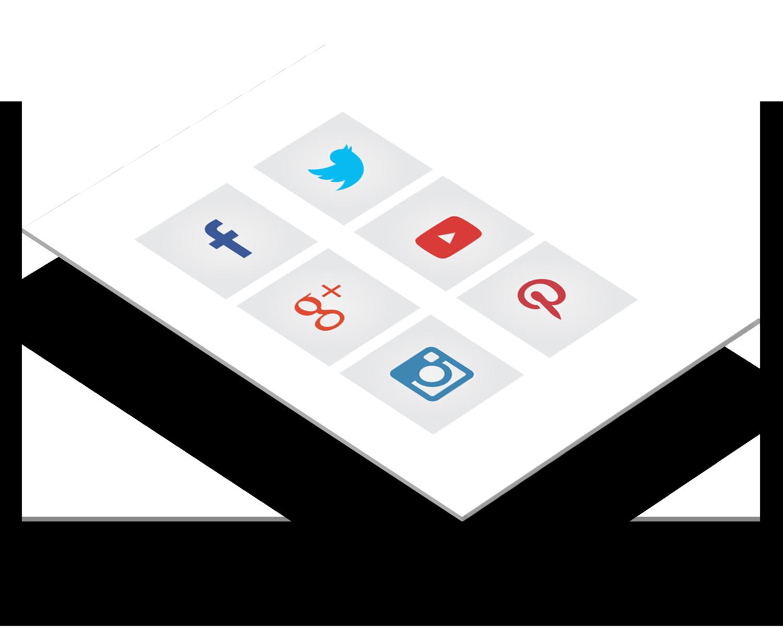 Social Media Integration - Facebook, Twitter, Instagram und Co lassen sich einfach integrieren. Verknüpfen Sie Ihre Webseite und erweitern Sie Ihr Netzwerk. Nur wer Sie kennt wird sich bei Ihnen melden.