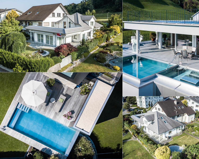 Luftaufnahmen - Fotografien aus der Vogelperspektive. Beeindrucken Sie mit neuen Perspektiven und geben Sie Ihrem Unternehmen, Projekt oder Immobilie einen neuen Blickwinkel.