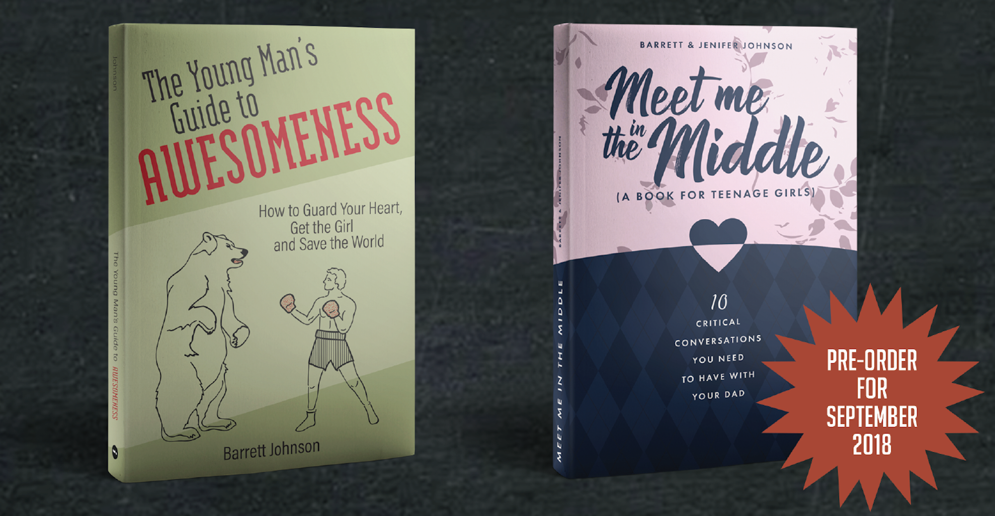 These books have been created to help tee up critical conversations between parents and teenagers.  Check them out.