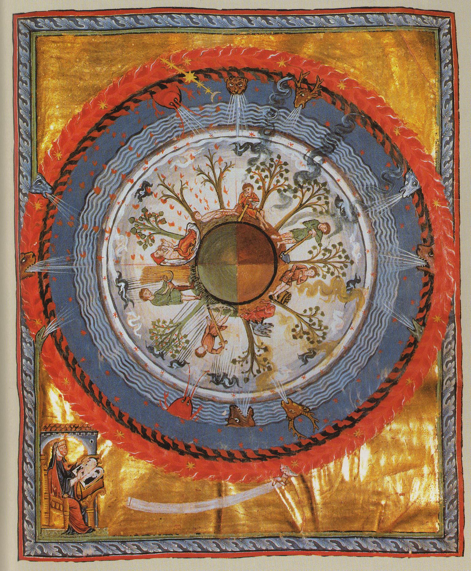 Hildegard von Bingen, 11th century German mystic