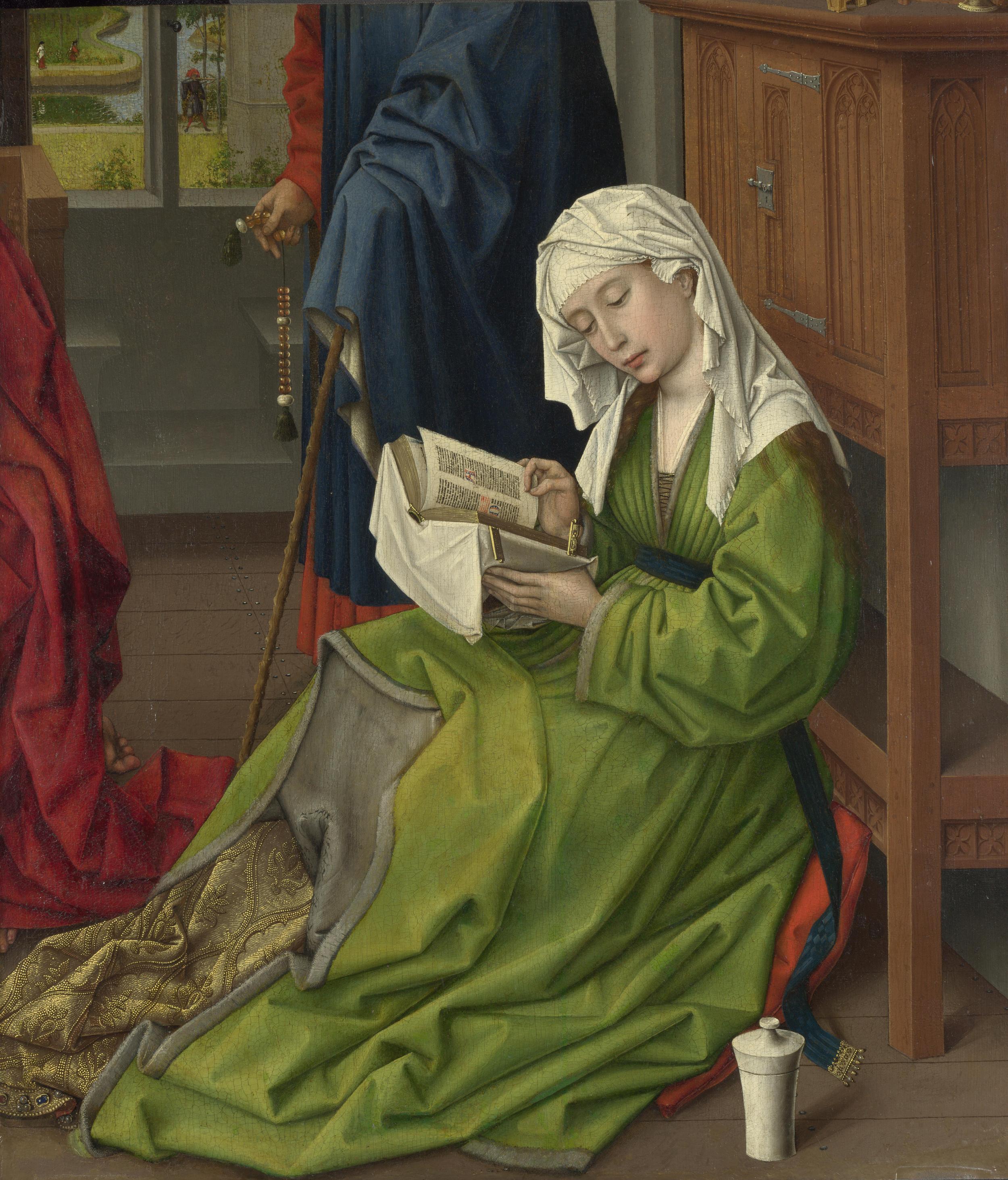"""Rogier van der Weyden, """"The Magdalen Reading"""", ca. 1435"""