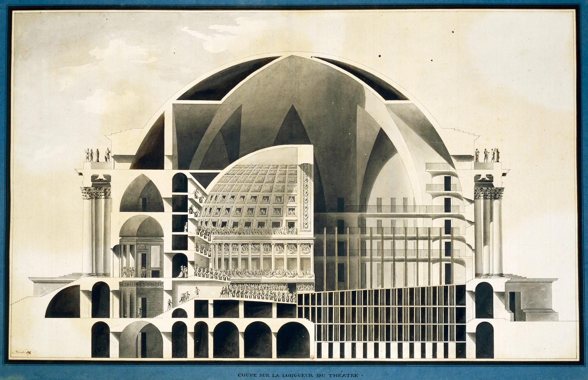 Etienne-Louis Boullee, 18th century french speculative architect