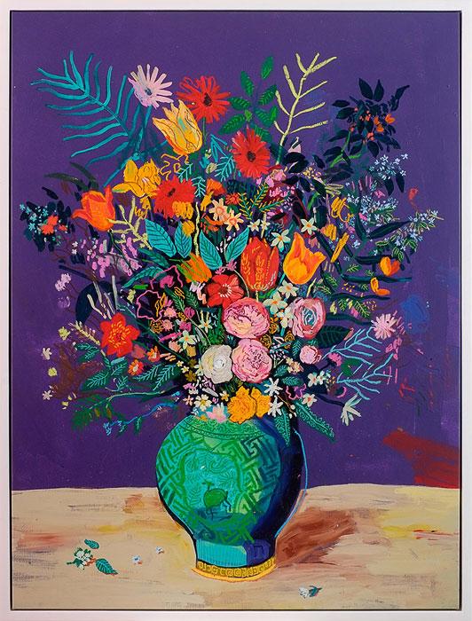 Andy Dixon, Purple Bouquet