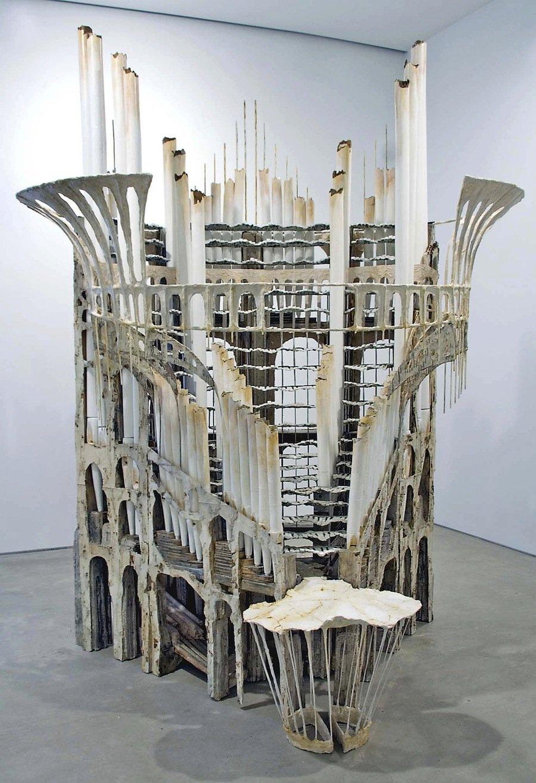 "Diana Al Hadid, ""All The Stops"", 2007"