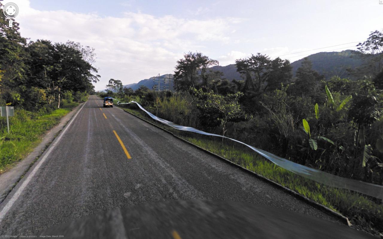 Jon Rafman, Google Earth Project