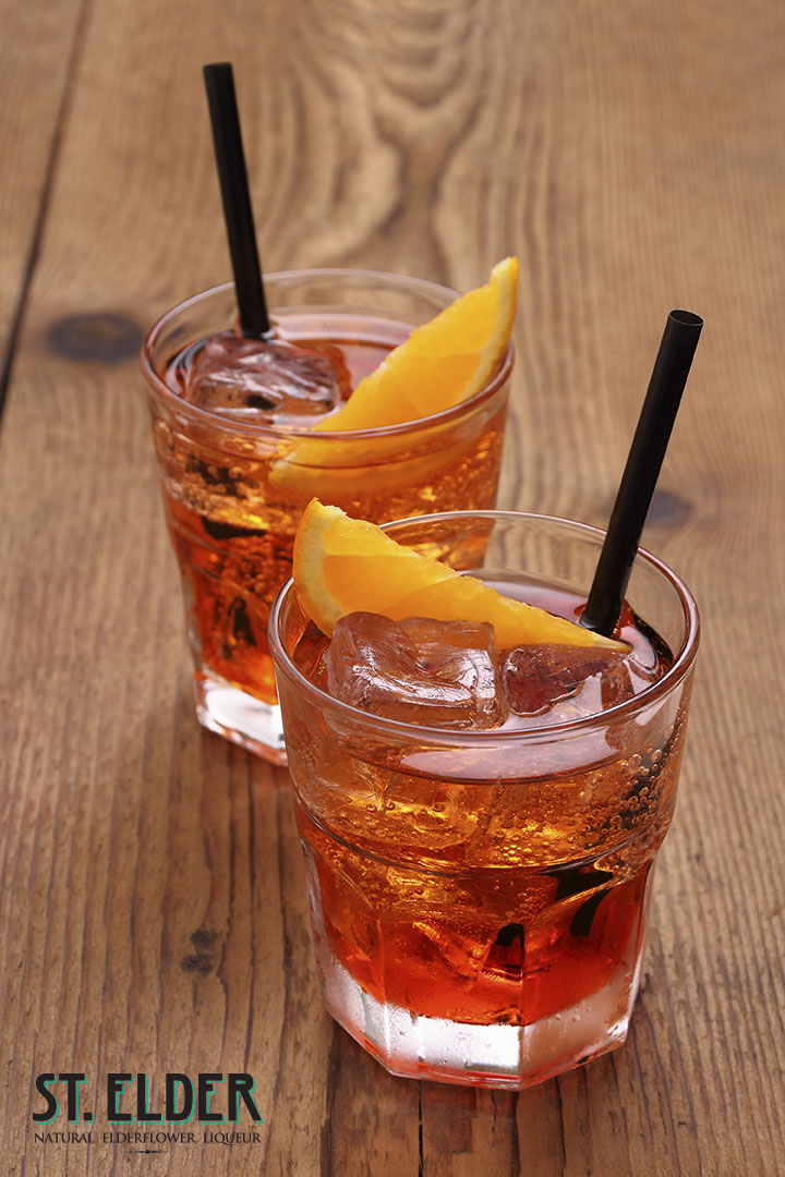 aperol elderflower spritz