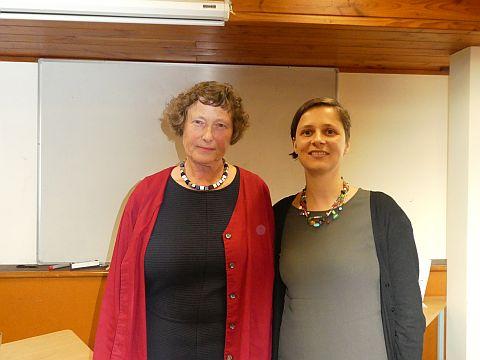 Prof.em. Friederike Klippel and Senior Lecturer Dr Diana Feick