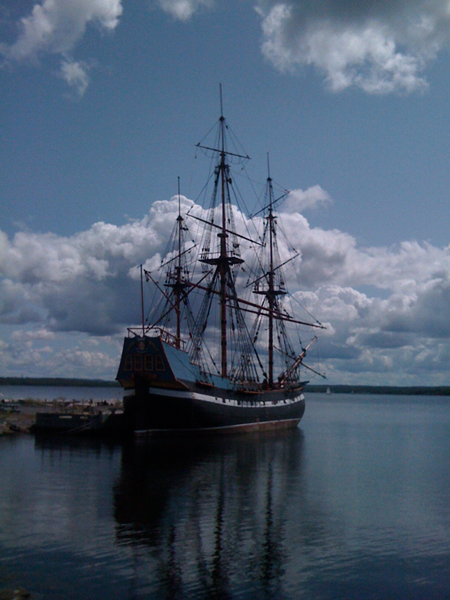 Ship Hector - Pictou, NS - 2010