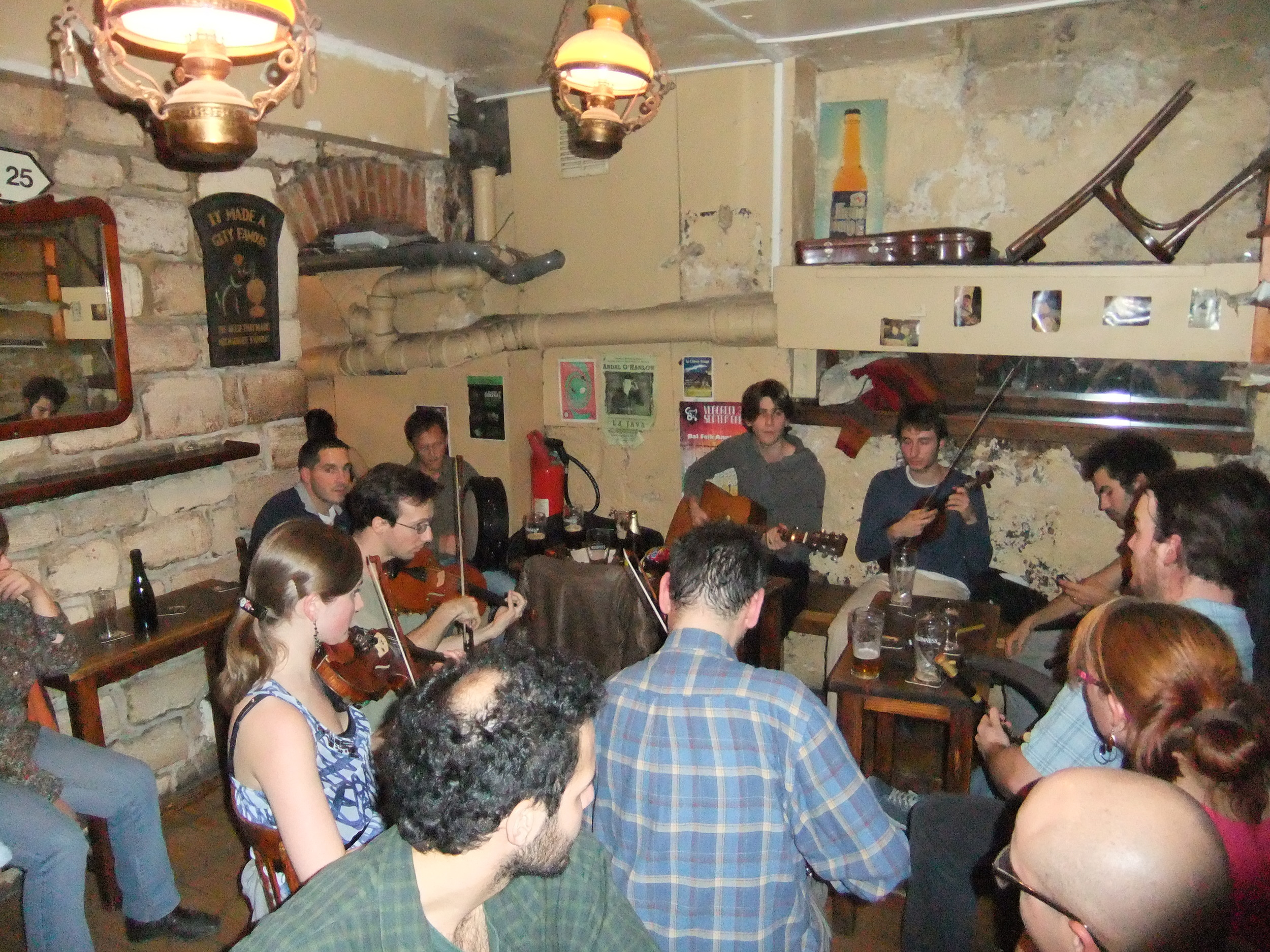 Irish Session in Paris