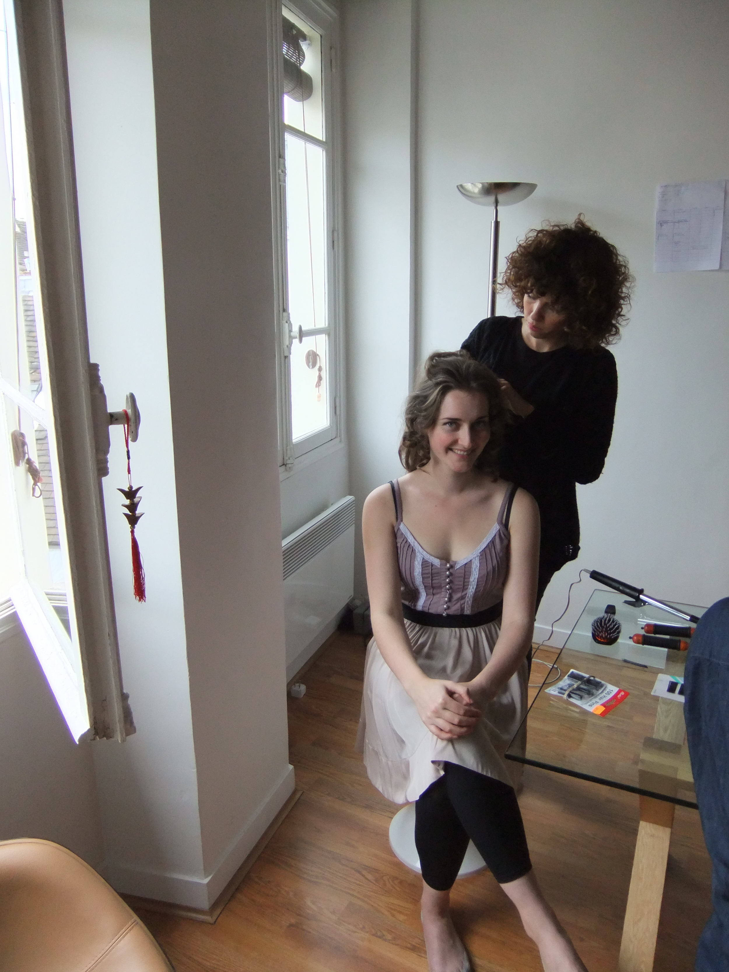 Vimy Ridge video shoot - Hair Trials in Paris