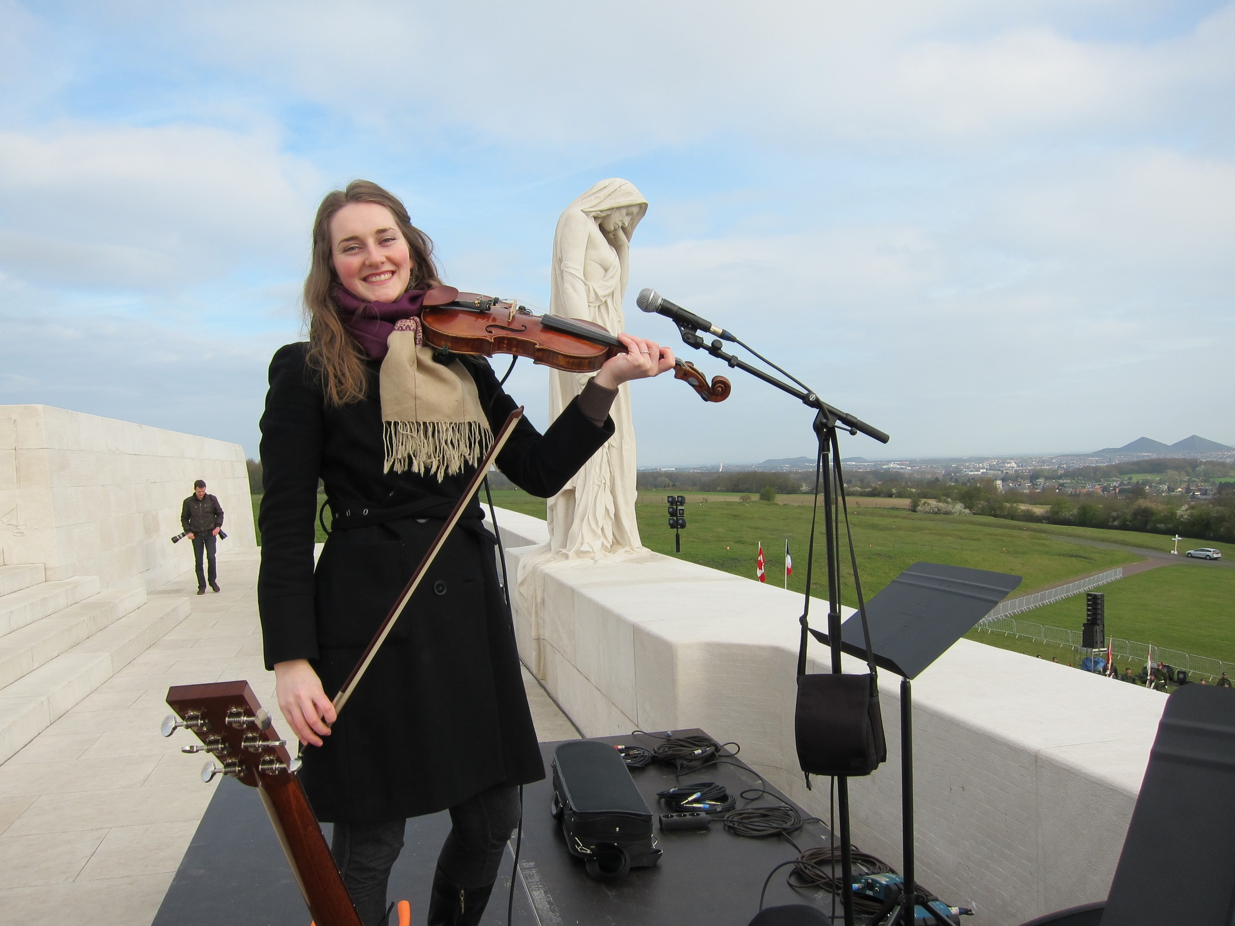 95th Anniversary of Vimy Ridge - Rehearsal