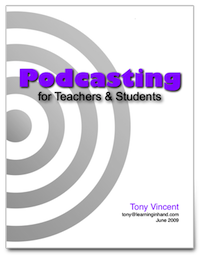 P  odcasting Booklet      Updated June 2009  Windows and Macintosh users, download the 34-page PDF. It takes you through the basics of finding, subscribing, and listening to podcasts. Then, learn step-by-step how to record and publish an audio podcast using free software.