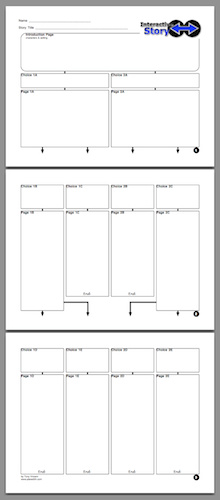 Click above to download Tony's story planner as a PDF.