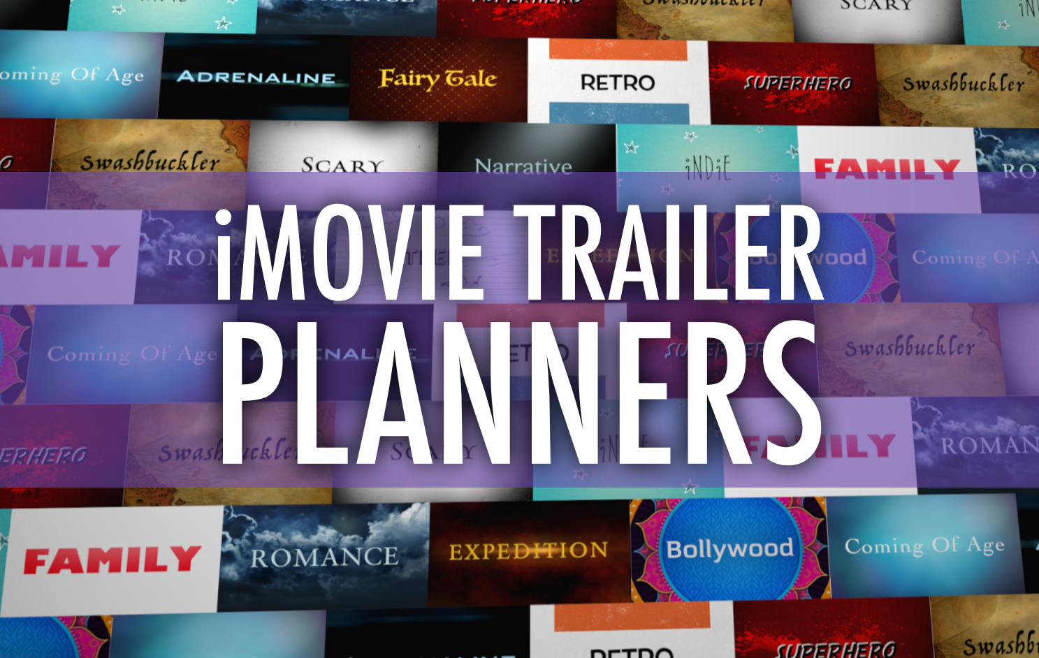 Imovie Templates | Plan A Better Imovie Trailer With These Pdfs Learning In