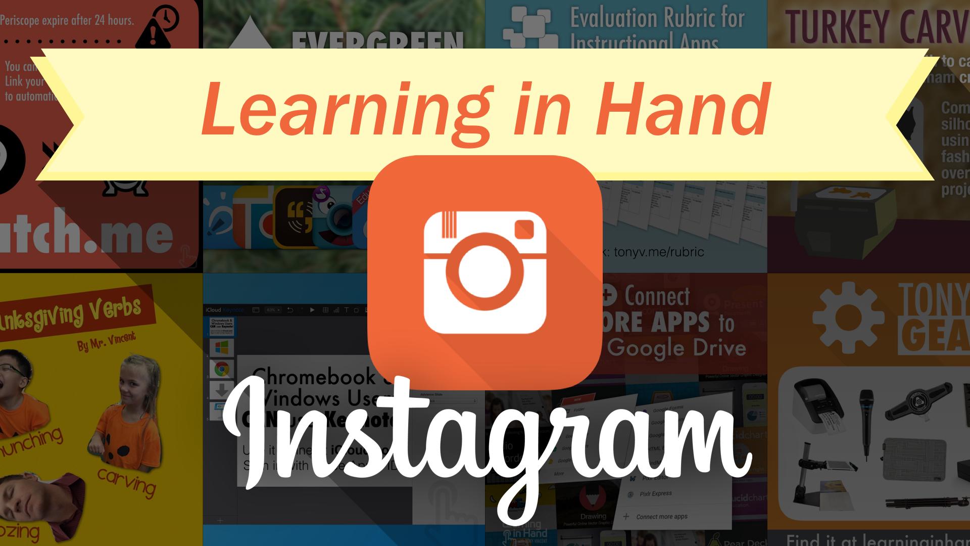 Learning in Hand Instagram