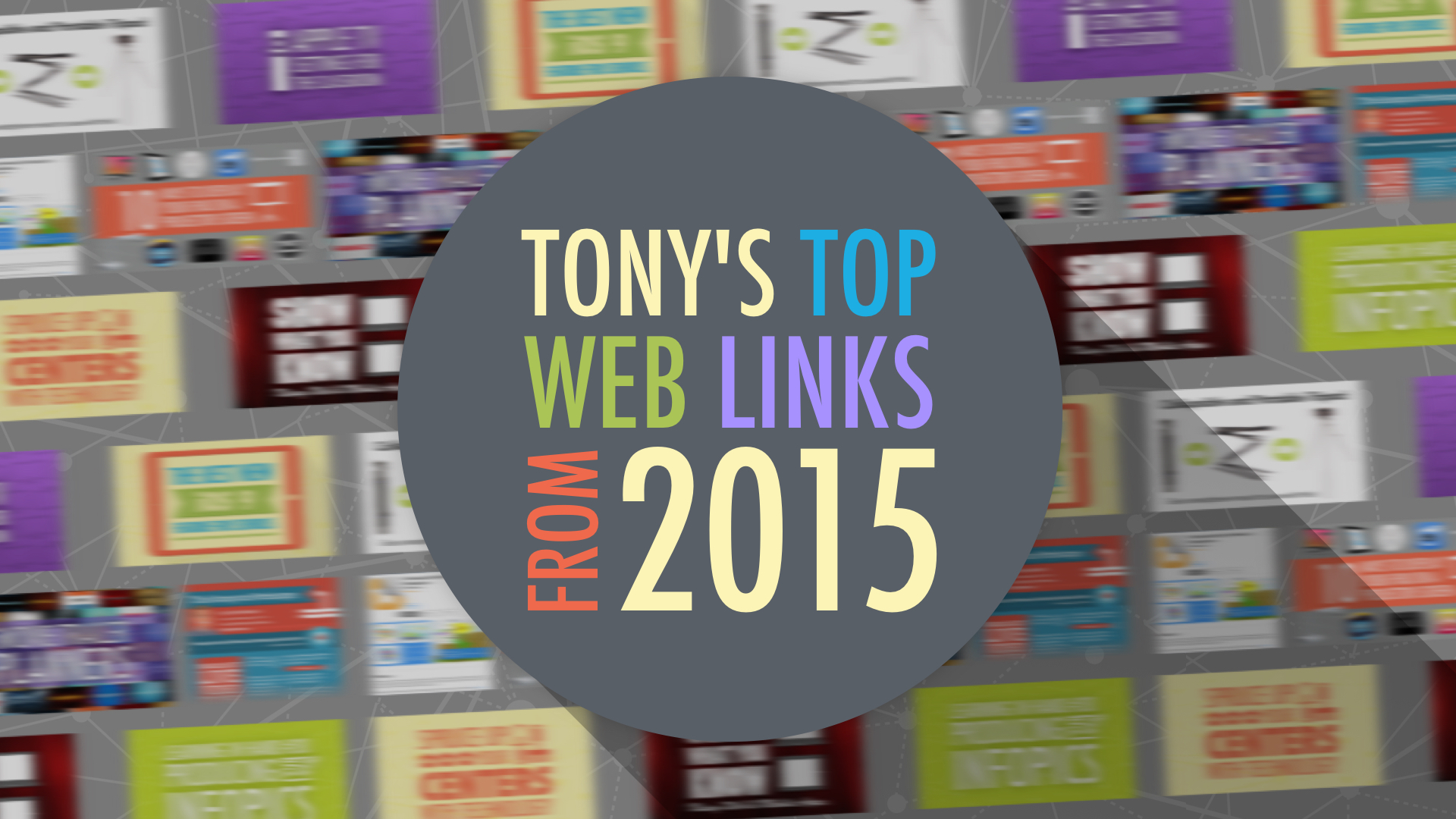 Tony's Top Web Links from 2015