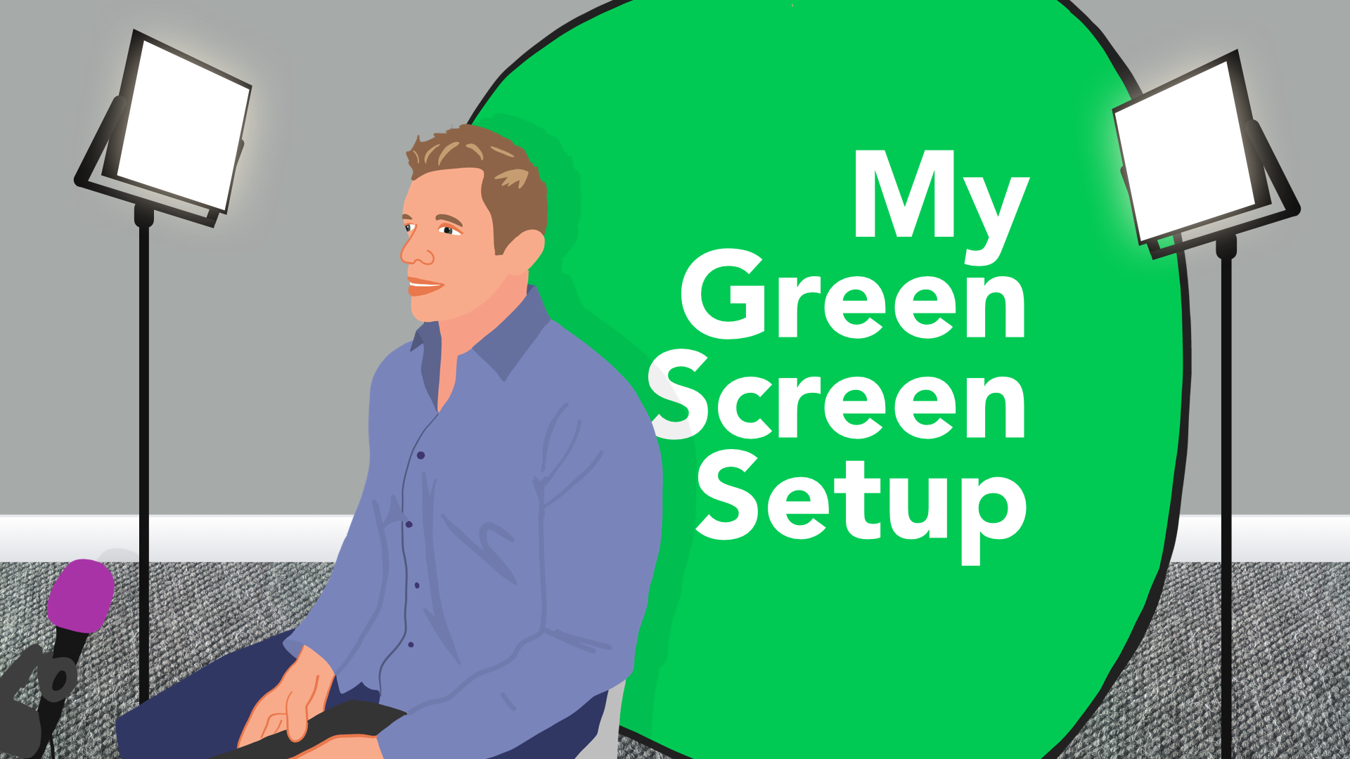 My Green Screen Setup