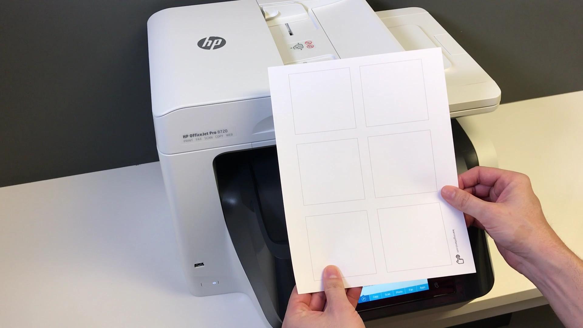Printed Guide Paper