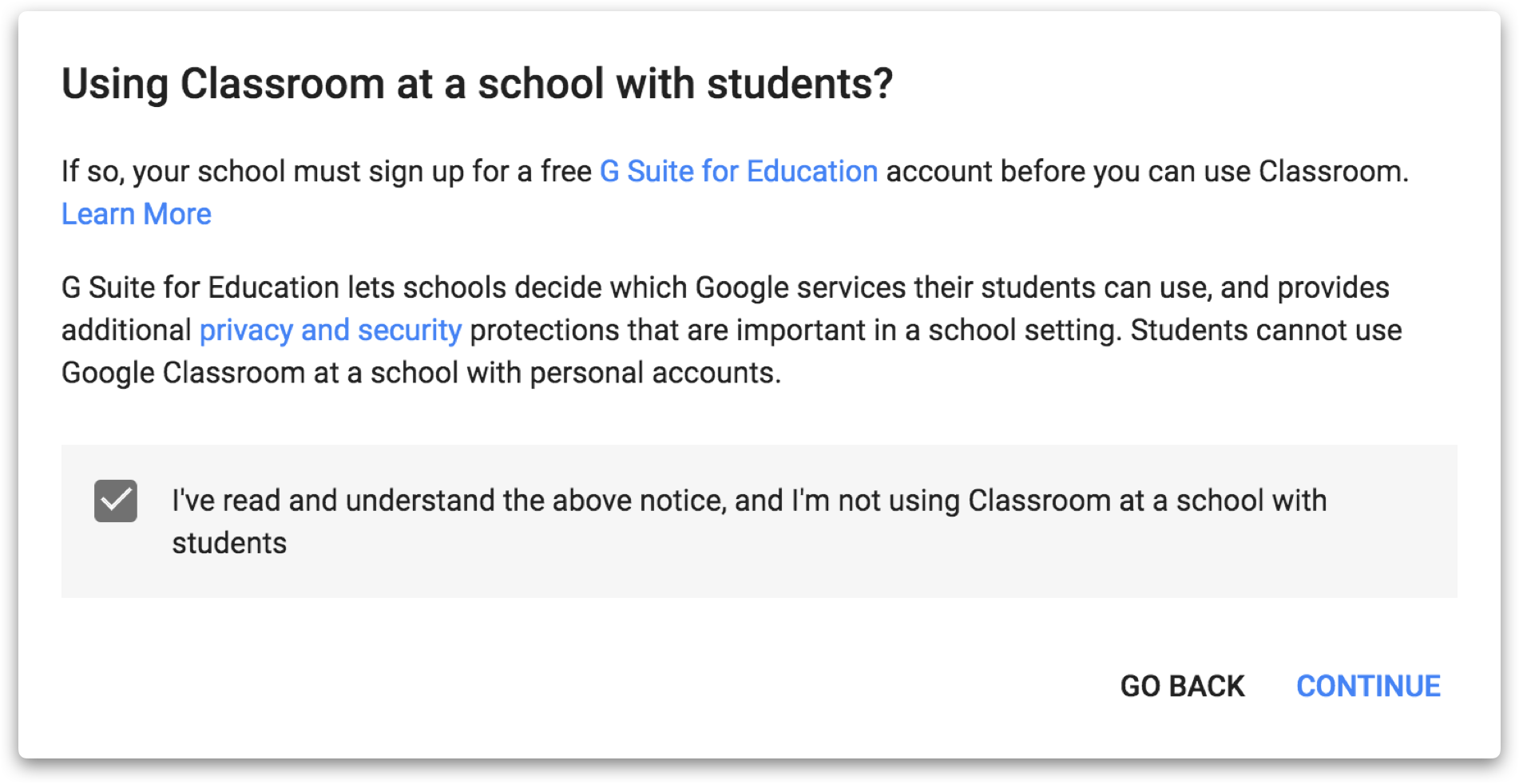 Google Classroom for Professional Learning — Learning in