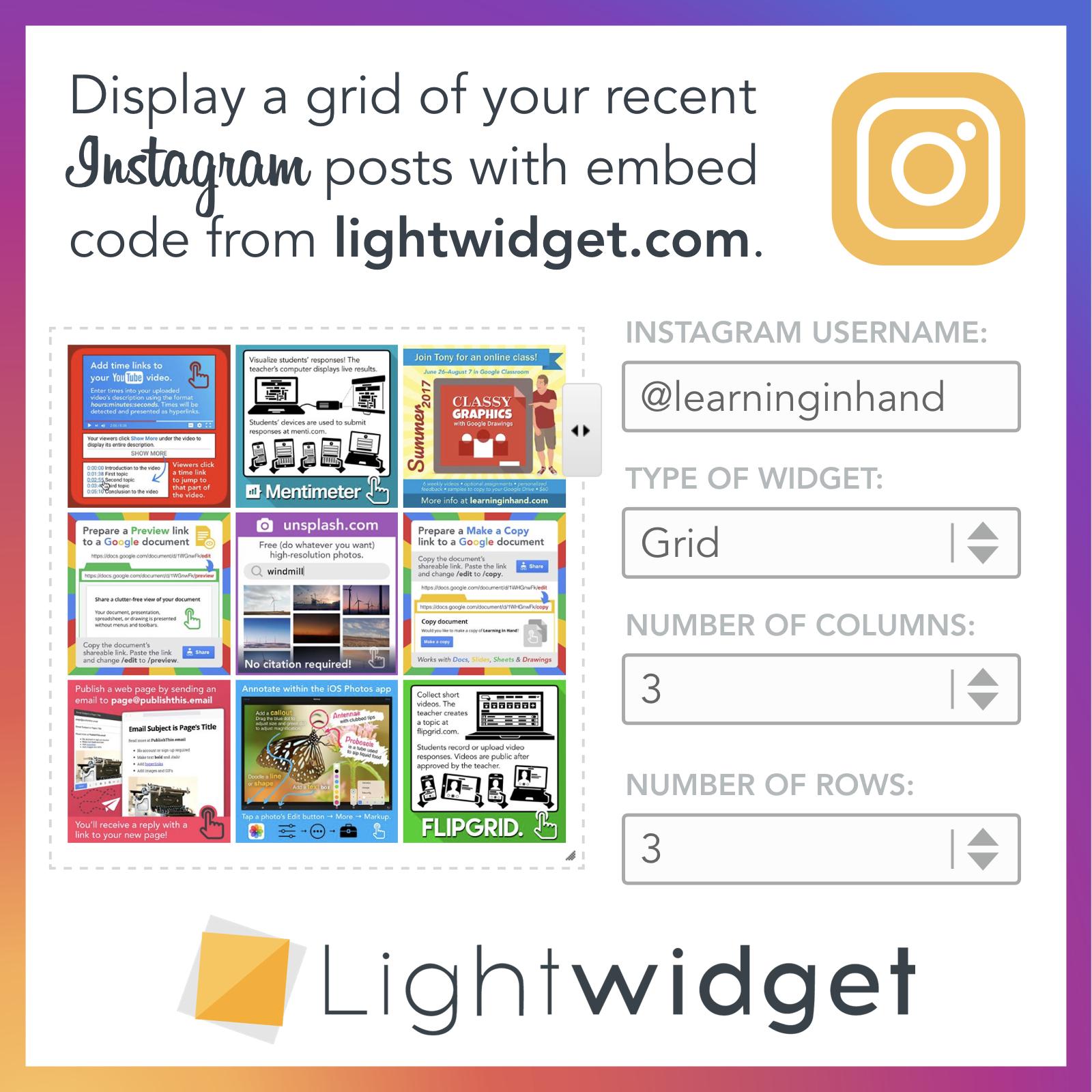 LightWidget Graphic