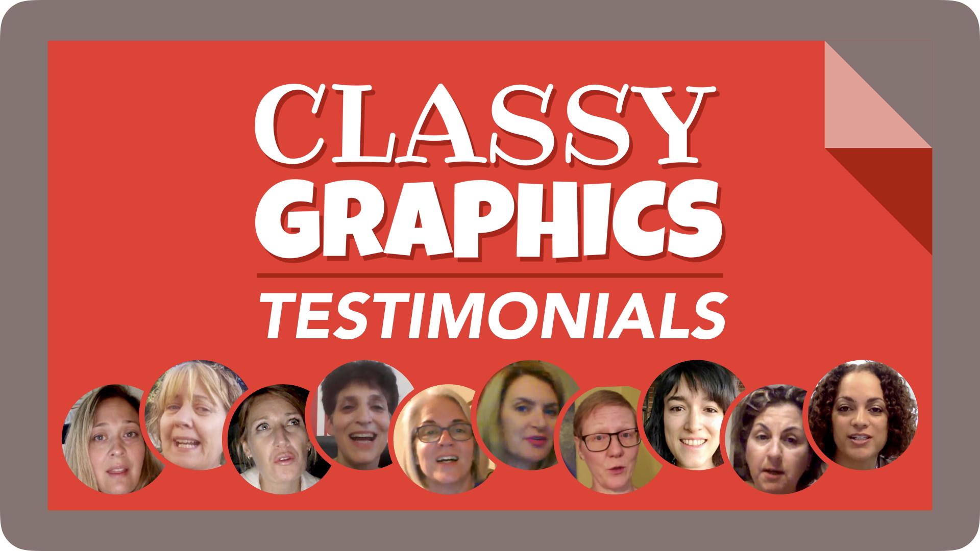Classy Graphics Testimonials