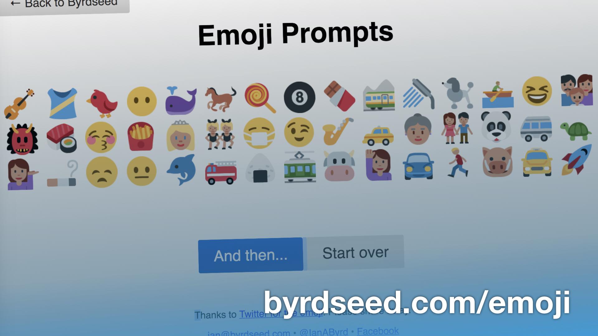 Emoji Prompts