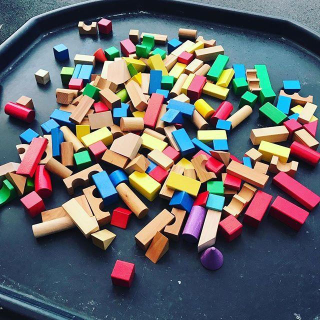 How tall can you build your tower? 🧱 . . . . . . . . #earlyyears #earlyyearsideas #earlyyearsteacher #preschool #learningisfun #learnthroughplay #playbasedlearning #teachersofinstagram #teachersfollowteachers #playingislearning #letthembechildren #playmatters #allaboutearlyyears #eyfs #discover #explore #investigate #earlyyearsactivities #play #teacher #nqt #building #tower #blocks #woodenblocks #finemotor