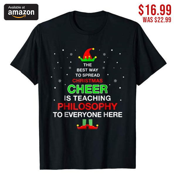 *CHECK OUT OUR BIO LINK TO GET YOURS* -- Funny Christmas Pajamas Elf Shirt For Philosophy Teacher -- Funny Christmas Pajamas Elf T-Shirt For Philosophy Teacher Gifts. Show off your holiday spirit with this Elf Christmas Cheer t shirt and tee to your Xmas Sweatshirts, Sweaters, Pajamas, Outfit and Hoodie collection. -- *CHECK OUT OUR BIO LINK TO GET YOURS* 🔒 SSL Incripted Checkout 💯 100% Satisfaction Guaranteed! * 🎁 Perfect gift for your family members and friends 👫⤵ Tag and share to your friends 💖 💗 😍😍 -- -- -- -- -- -- #teacher #teacherlife #teacherstyle #teachergifts #teacherlife?? #teachers #teacherfashion #teacherfun #teachergift #teacherday #elementaryteacher #teacherclothes #teachersgifts #iteach #iteachthird #iteachsixth #iteachfourth #iteach345 #iteach2nd #iteachmiddleschool #philosophy #philosophystudent #fashionphilosophy