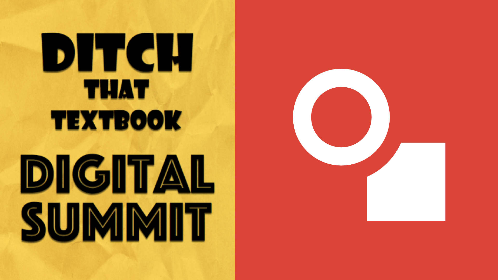 Ditch That Textbook Digital Summit