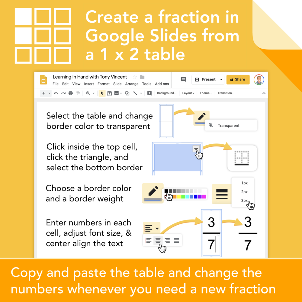 Get Creative with Google Slides — Learning in Hand with Tony
