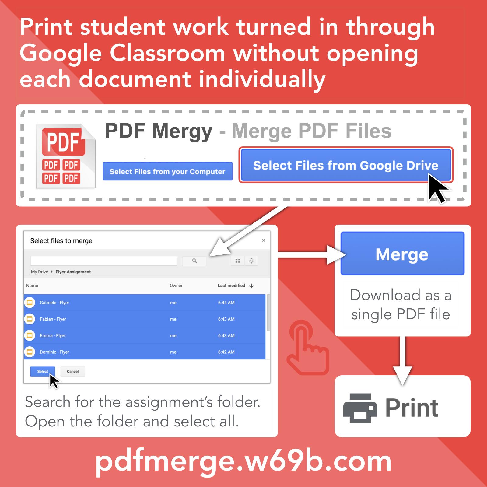 PDF Mergy Instructions