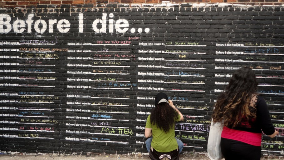 SMALL WORLD BIG DREAMS - AN ADAPTATION OF THE BEFORE I DIE PROJECT
