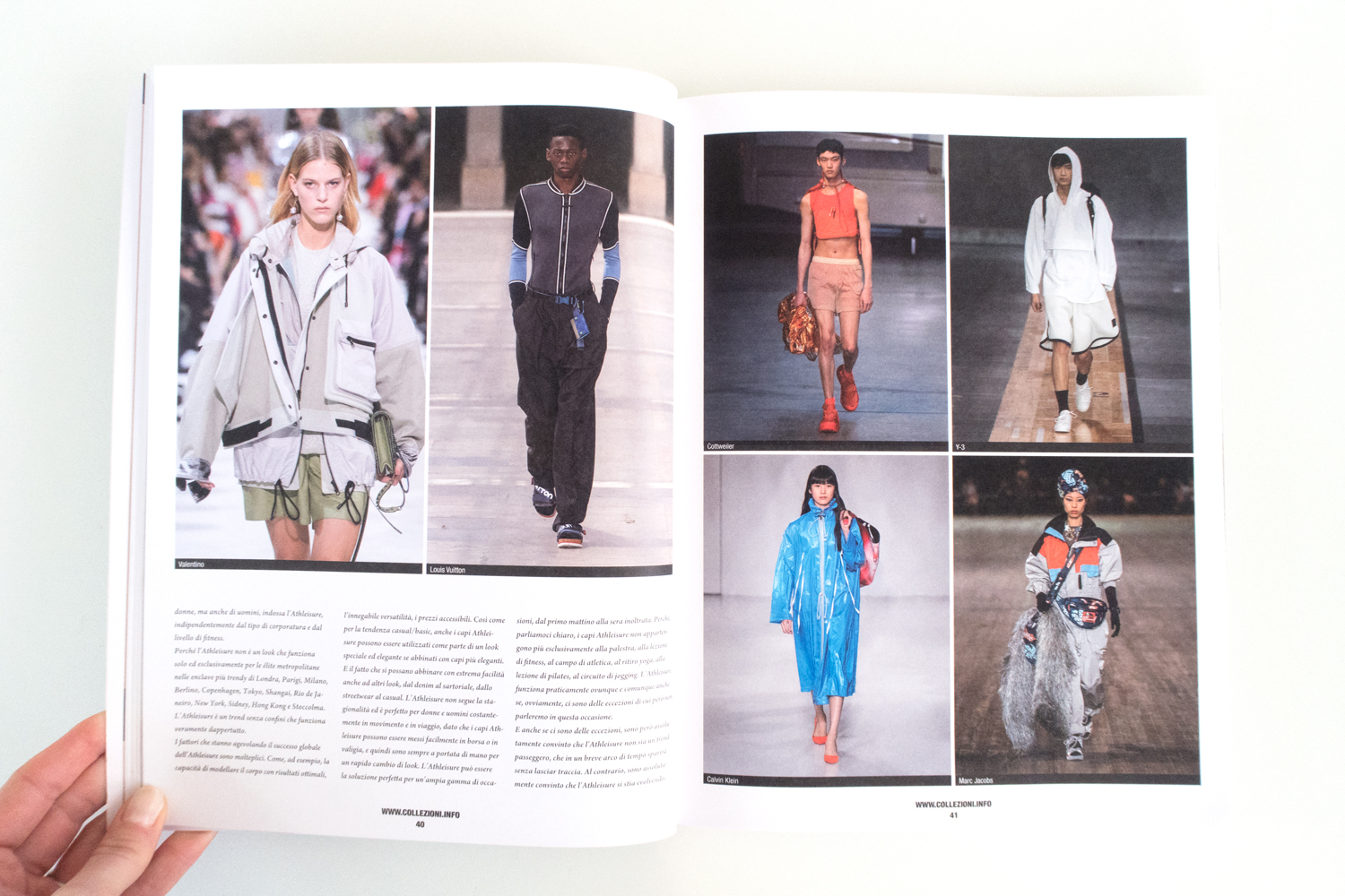SPORT AND STREET | COLLEZIONI Issue 84, The Beauty of Athleisure by Alberto Caselli Manzini