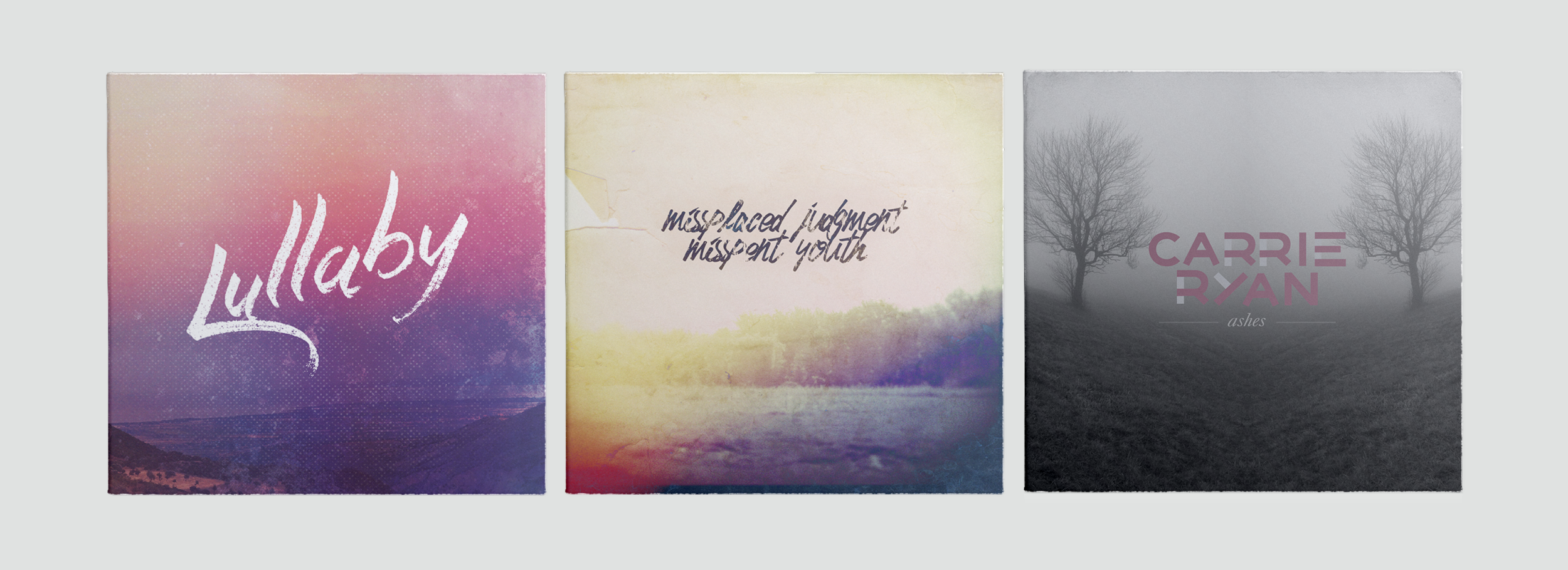 LULLABY  // 2015      MISPLACED JUDGEMENT MISSPENT YOUTH  // 2014      ASHES // 2014 PURCHASE ON:  BANDCAMP