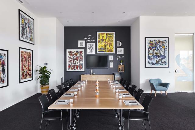 The Larwill Studio boardroom - Melbourne    From: $350