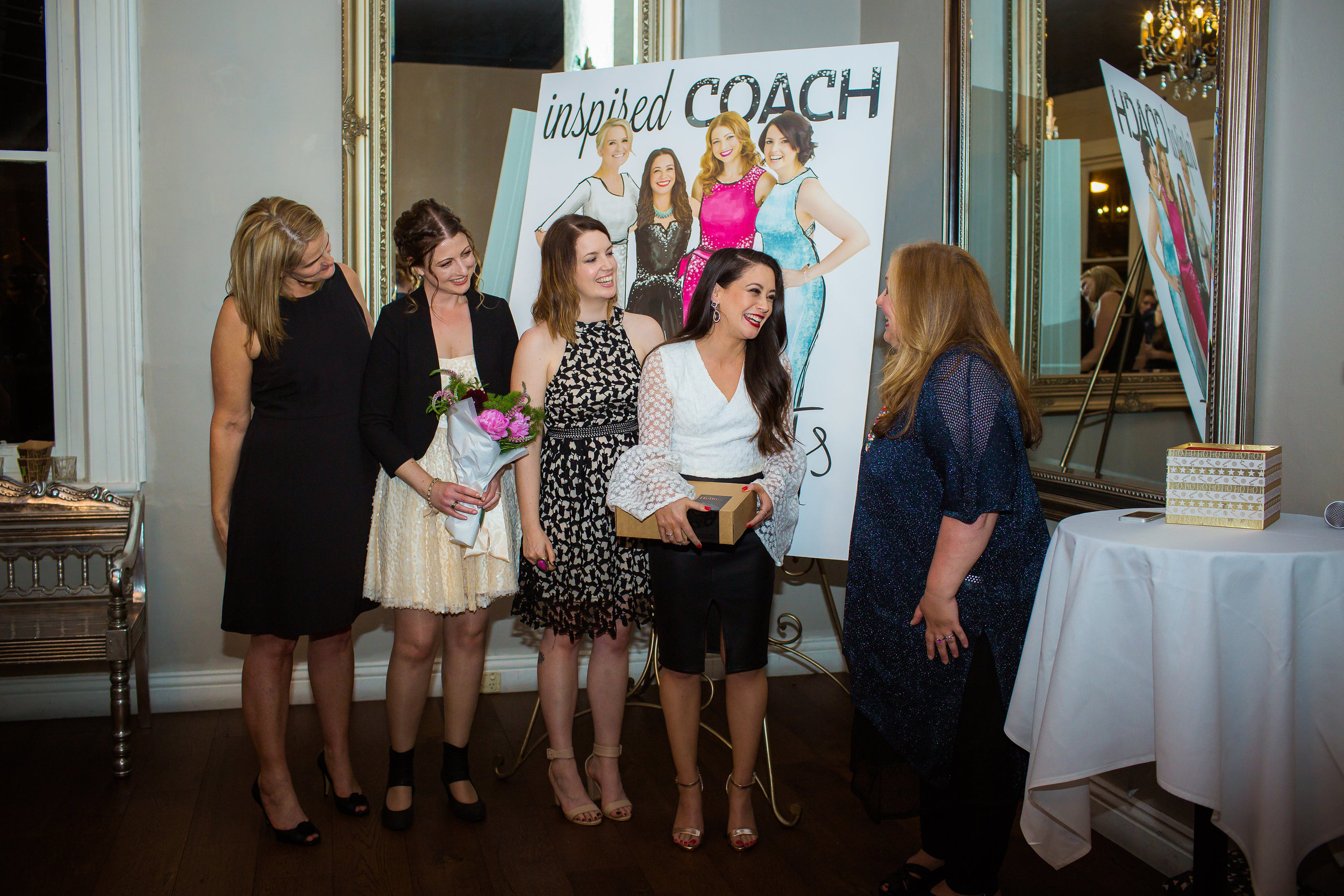 Inspired COACH Launch - I have SO many incredible memories over the years, rich with moments of joy and happiness.This is just one of them, the 2016 BYCA Christmas Party and Inspired COACH magazine launch.We were so excited to be on the cover!