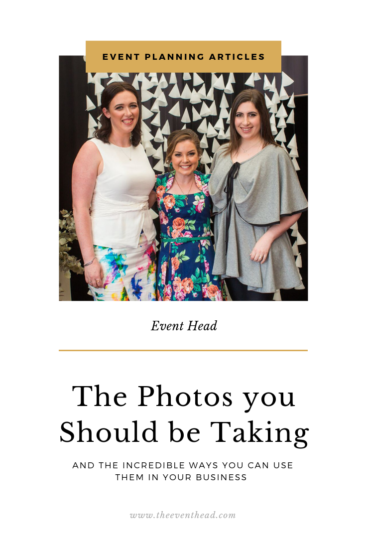 The Photos You Should You Be Taking At Your Events