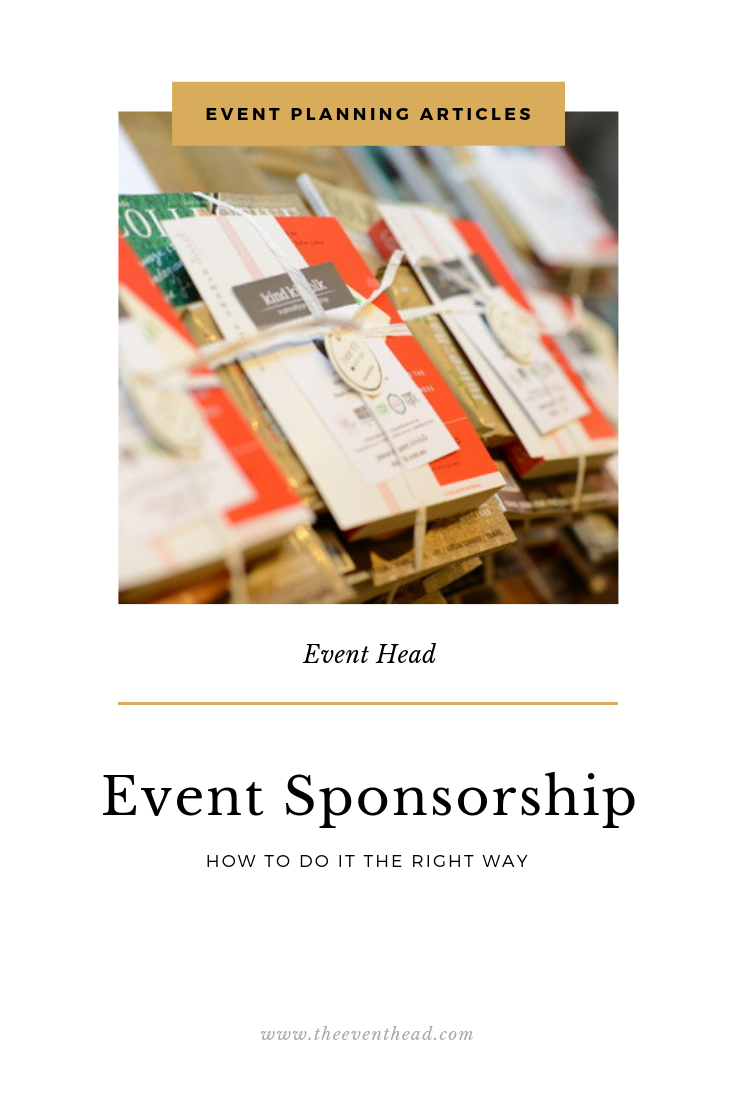 Event Sponsorship - How To Do It The Right Way