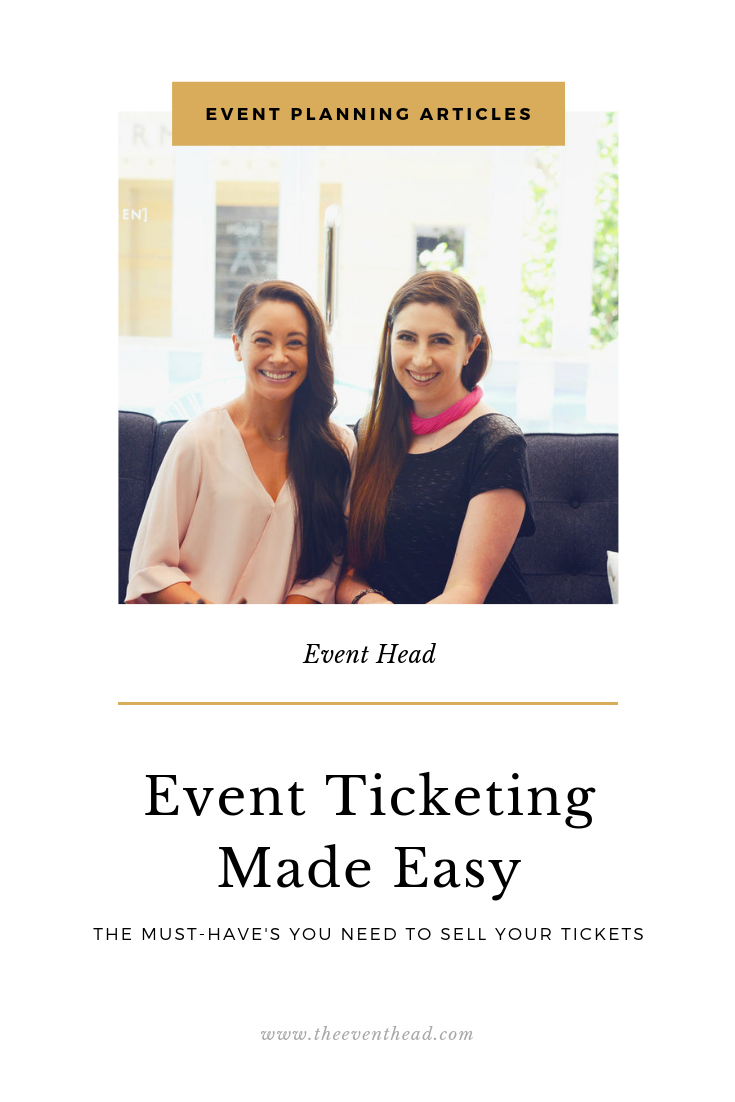 event ticketing made easy